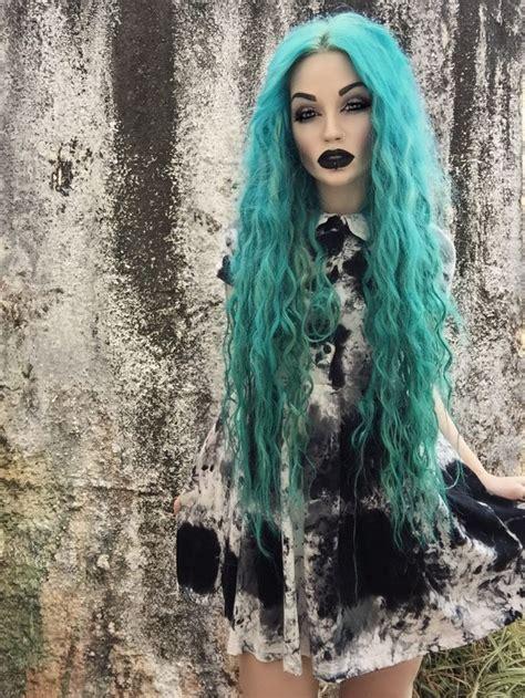 Best 20 Teal Hair Color Ideas On Pinterest Blue Green