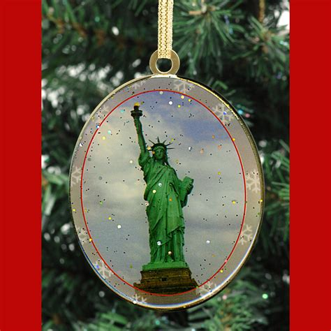 christmas decorations statue of liberty statue of liberty ornament