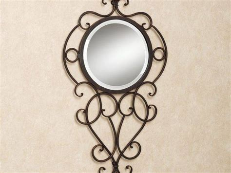 Wrought Iron Bathroom Mirror by 30 Best Ideas Of Wrought Iron Bathroom Mirrors