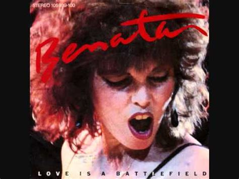 Pat Benatar - Love is a Battlefield [LYRICS] - YouTube