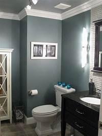 bathroom wall paint ideas bathroom paint idea Benjamin Moore Smokestack Grey. love ...
