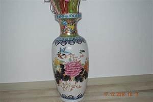Chinesisches Porzellan Kaufen : vase gro e chinesische bodenvase 62 cm in bretten glas ~ Michelbontemps.com Haus und Dekorationen
