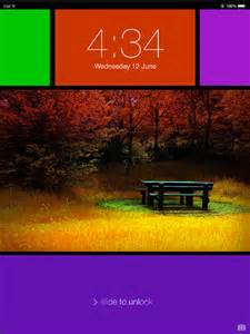 ipad lock screen themes images