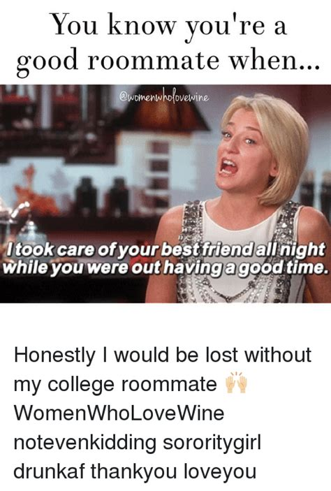 Roommate Memes - 25 best memes about college girl memes and roommate college girl memes and roommate memes