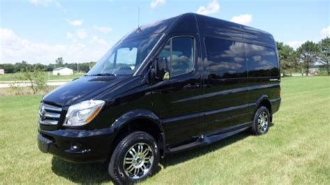 It offers great passenger comfort, a sufficiently long list of. Mercedes-Benz Sprinter Obsidian Black Metallic with Black ...