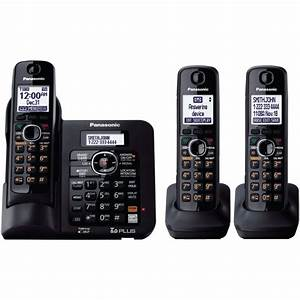 Expandable Digital Cordless Answering System With 3