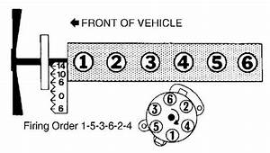 Firing Order Straight 6 Cyl 1991 Ford F150