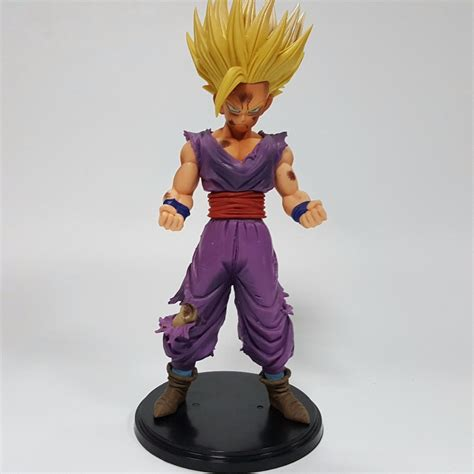 Dragon ball z merchandise was a success prior to its peak american interest, with more than $3 billion in sales from 1996 to 2000. Dragon Ball Z Action Figures Son Gohan MSP PVC 200mm ...