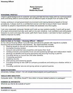 government cover letter template housing officer cv example icover org uk