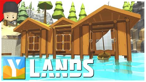 How To Make A Boat Ylands by Ylands Boat House The Dock Ep 14 Survival Crafting