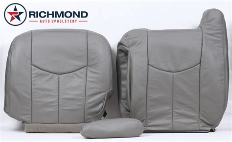 20032007 Chevy Silverado Lt Ls Z71 Leather Seat Covers