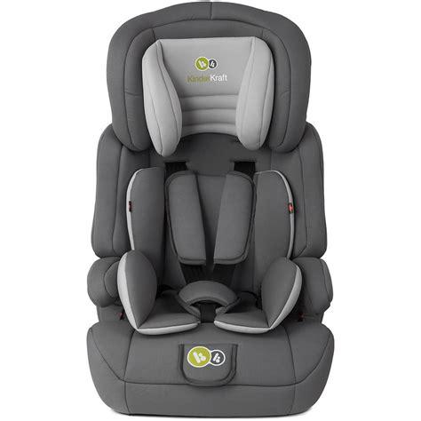kinderkraft comfort  group  car seat grey