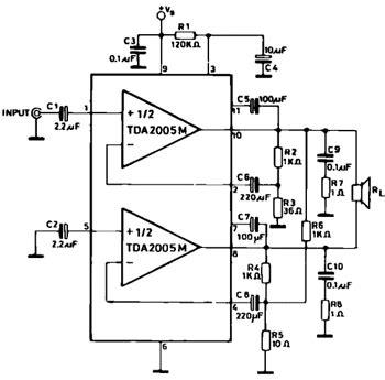 tda amplifier circuits circuit wiring diagrams