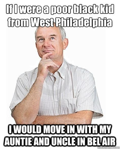 Auntie Meme - if i were a poor black kid from west philadelphia i would move in with my auntie and uncle in