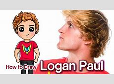 How to Draw Logan Paul Famous Youtuber YouTube