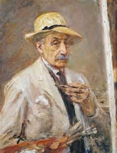 'Self-Portrait', Max Liebermann   Tate