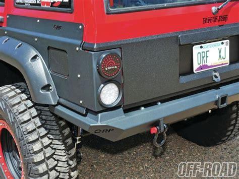 jeep cherokee rear bumper 1301or 11 ferrar jeep 1996 jeep cherokee xj rear or fab
