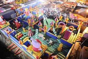 Jeux Geant Exterieur : jeu gonflable multi parcours g ant monster de 280 m mes sc nes de stars ~ Teatrodelosmanantiales.com Idées de Décoration