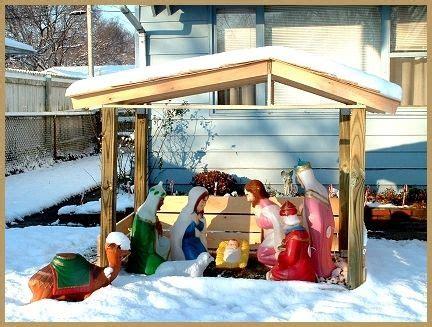 nativity stable nativity  stables  pinterest