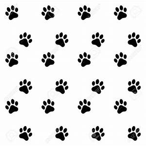Pawprint background clipart