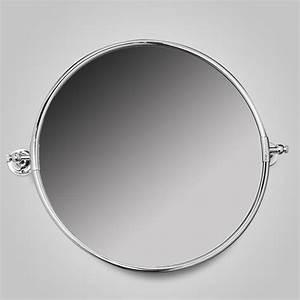 Miroir Salle De Bain Rond : miroir rond en laiton chrom the club ~ Teatrodelosmanantiales.com Idées de Décoration
