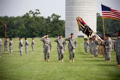 "101st Airborne Division's 2nd Brigade Combat Team ""strike"" Holds Change Of Command Ceremony At"