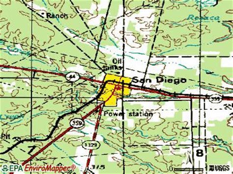 offenders san diego map san diego texas tx 78384 profile population maps