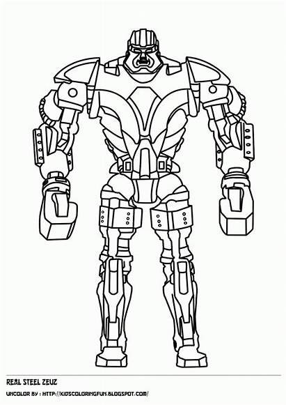 Steel Boy Noisy Zeus Coloring Pages