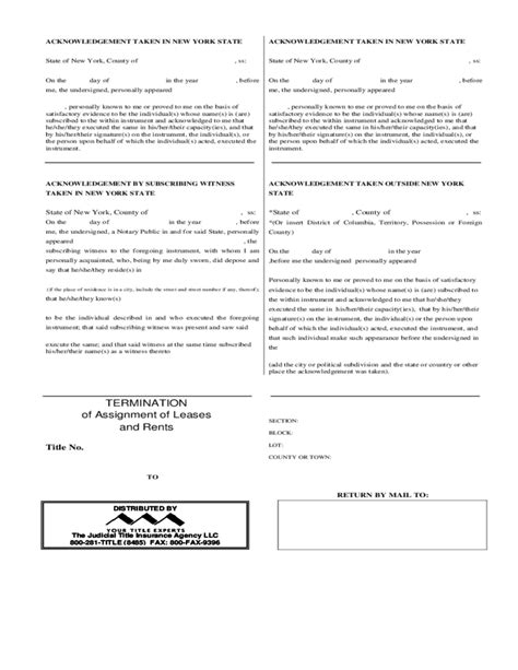 termination of assignment of leases and rents form termination of assignment of leases and rents free download