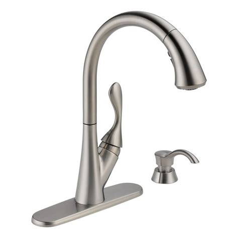 kitchen faucet sale faucet com 19922 sssd dst in brilliance stainless by delta