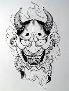 Demon Japonais Dessin : best 25 oni tattoo ideas on pinterest oni mask tattoo samurai and samurai mask tattoo ~ Maxctalentgroup.com Avis de Voitures