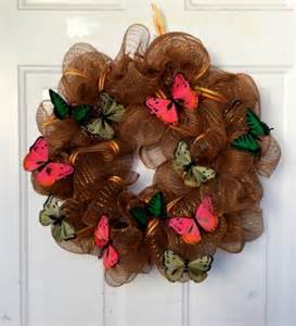 how to make a deco mesh wreath black nerd family