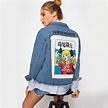 Patch Back Punk Denim Jacket Coat Get the Deal at https ...