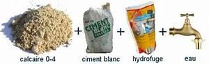 Dosage Enduit Ciment : le bon dosage du liant et la r sistance des pierres ~ Premium-room.com Idées de Décoration