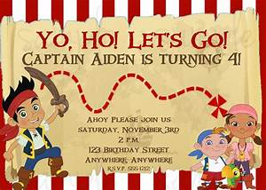 FREE Printable Jake and the Neverland Pirates Birthday ...