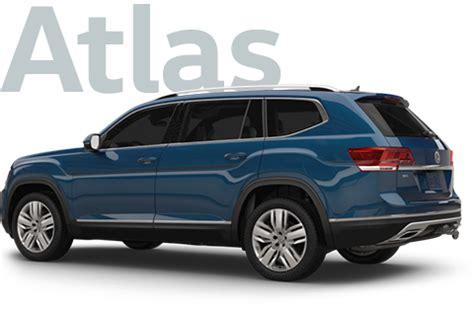 Vw Atlas Size by 2018 Vw Atlas Size Suv Volkswagen Car