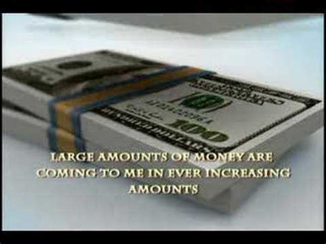 law  attraction wealth money manifestation affirmation youtube