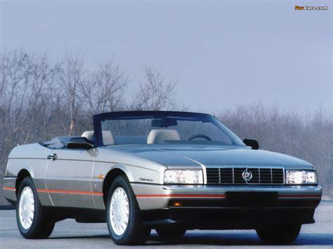 Images of Cadillac Allanté EU-spec 1987–93 (1024x768)
