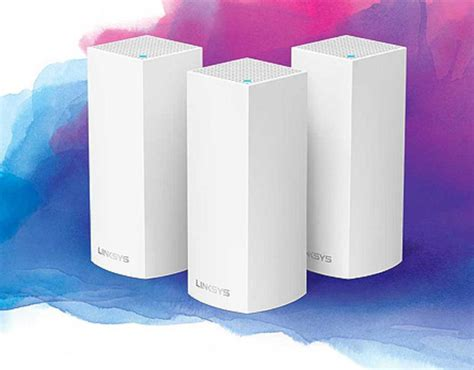 linksys velop mesh network  smart buy   small