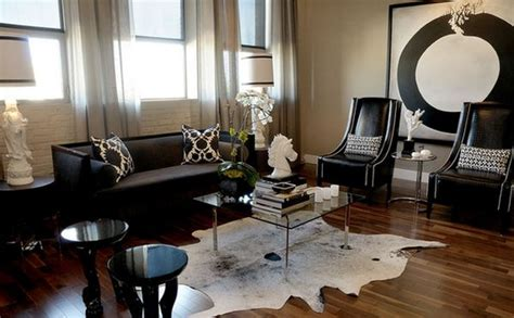 color design ideas  black furniture