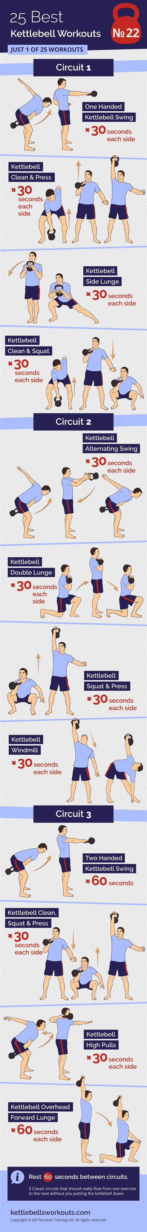 kettlebell circuits classic alternating