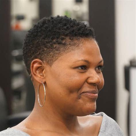 easiest natural hairstyles  black women short