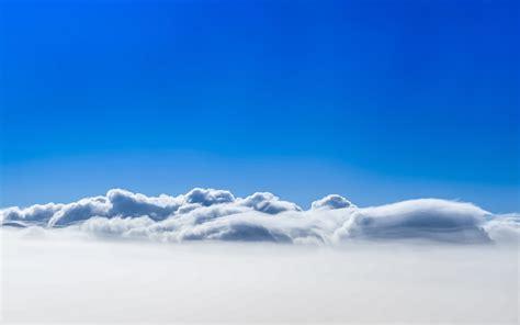 Wallpaper Clouds, Blue Sky, Hd, 4k, Nature, #5928