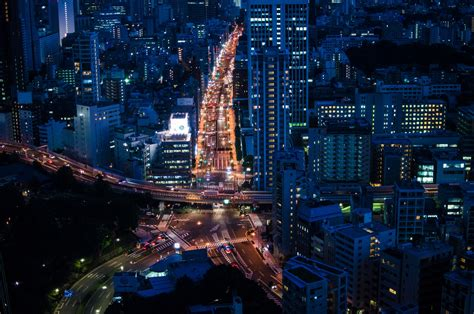 Japan Cityscape Wallpapers Hd Desktop And Mobile