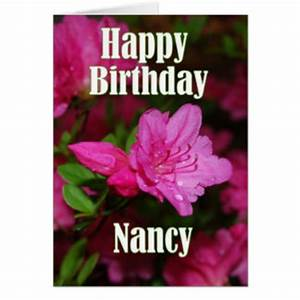 Happy Birthday Nancy Gifts on Zazzle