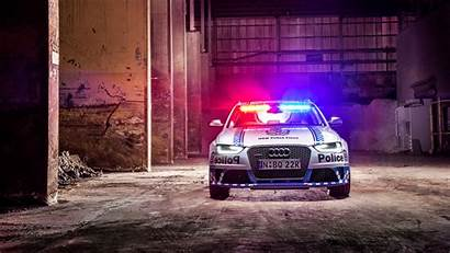 Police Audi Rs4 4k Avant Wallpapers 8k