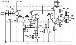 Talk over circuit for Voice over circuit