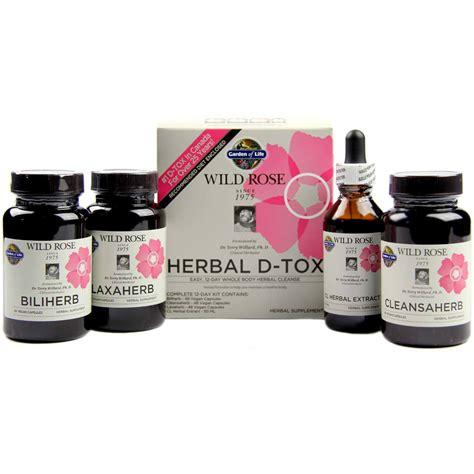 garden of herbal d tox 1 kit evitamins