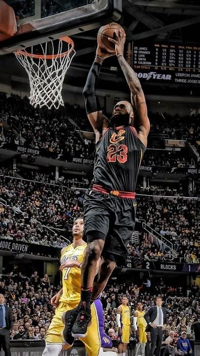 Lebron James Nba Wallpapers Basketball Dunk Bron