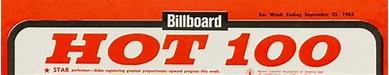 THIS WEEK IN AMERICA: 'HOT 100′ BILLBOARD! 09/1965
